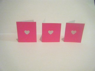 mini love notes - great idea for valentines day