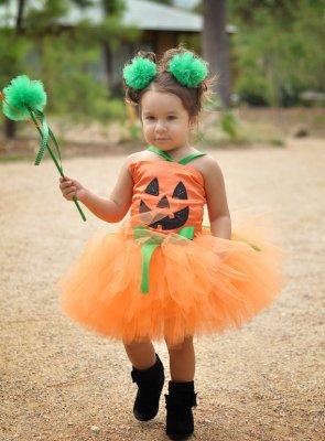 Pumpkin Patch Fairy Halloween Tutu Costume.......Perfect for Halloween