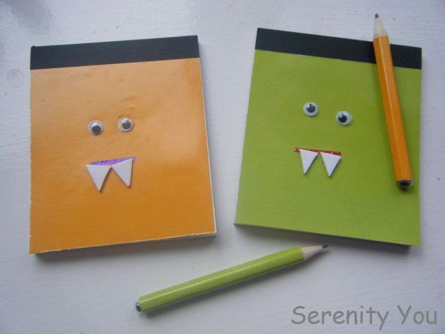 Mini Monster Notebooks