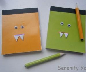Mini Monster Notebooks