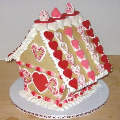 2009 Valentine's Day Sugar Cookie House