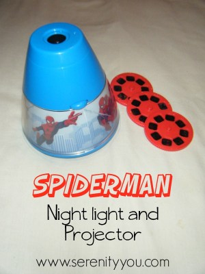 Spiderman Night Light and Projector review