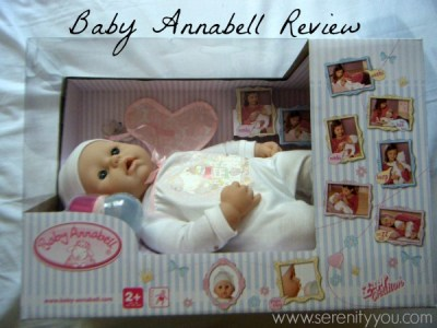 baby Annabell Doll review