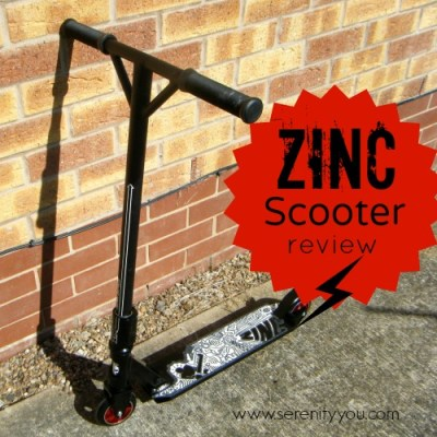 Zinc Zycho Scooter Review
