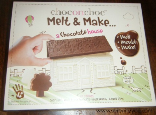 Choconchoc Melt & Make Chocolate House kit