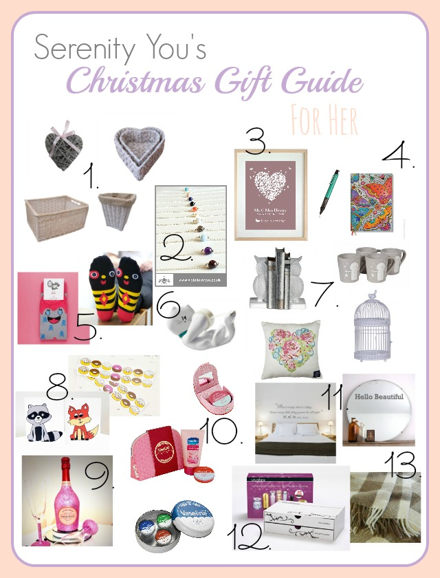 Christmas Gift Guide For Her 2014 Serenity You