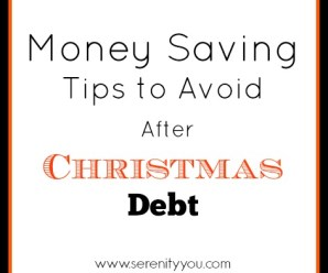Money Saving Tips to Avoid After Christmas Debt