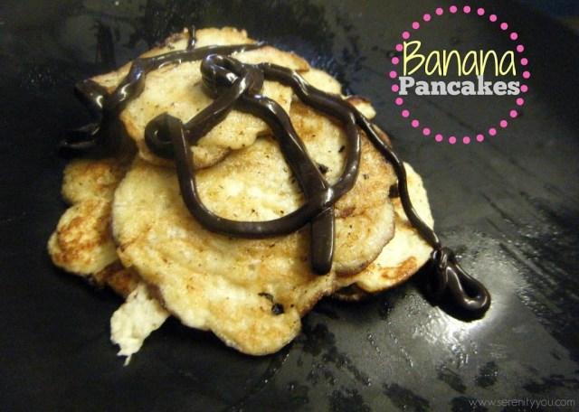 2 ingredients banana pancakes