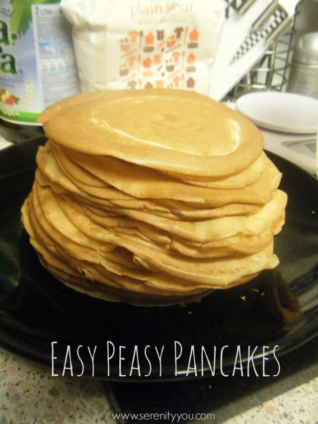 easy peasy pancakes Recipe