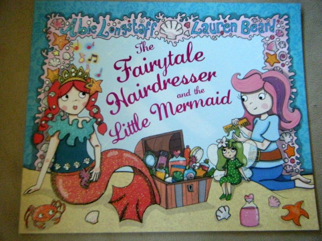 the fairytale hairdresser and the little mermaid book