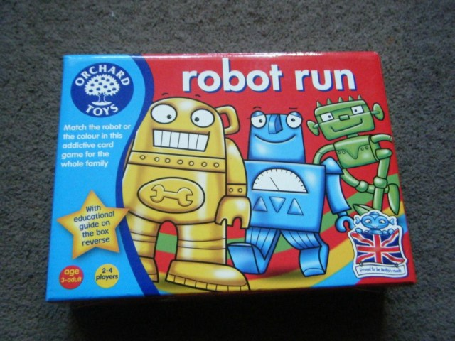 Robot run 1