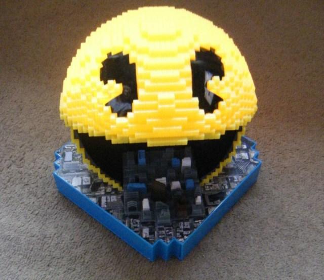 pixel pac man
