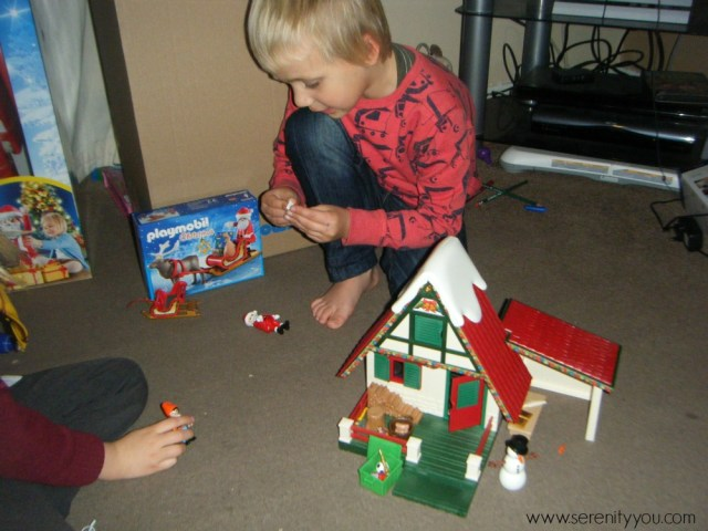 playmobil Christmas Santa set 7