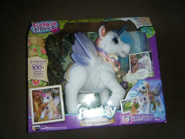starlily magical unicorn in box