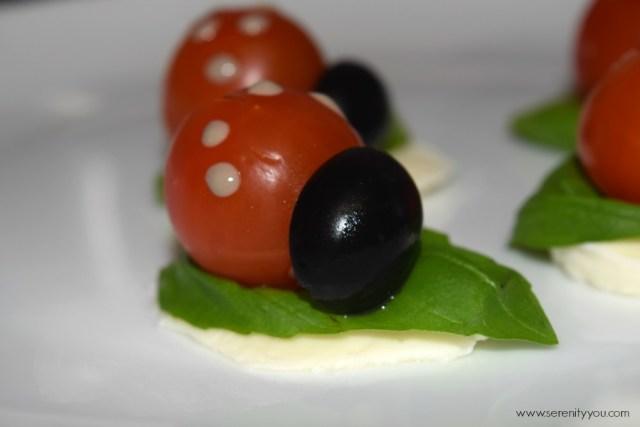 ladybird appetizers 1