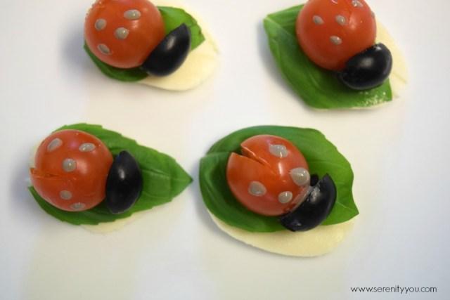 ladybird appetizers 2
