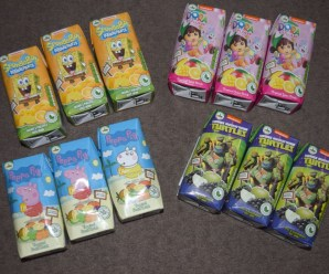 Appy Nickelodeon Character Drinks