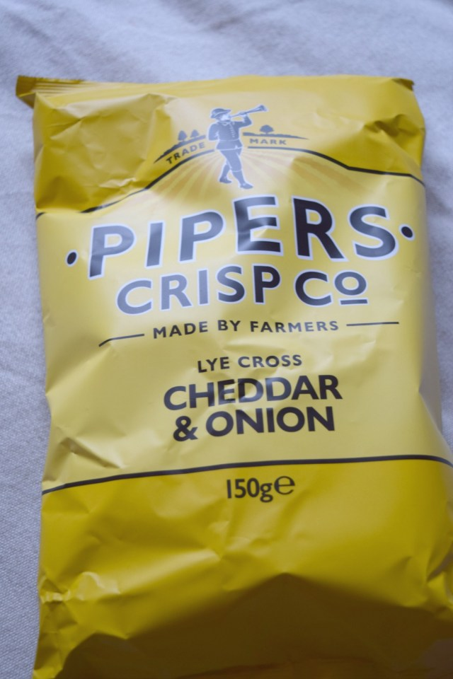 degustabox - pipers crisp