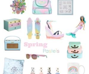 My Spring Pastel Favourites