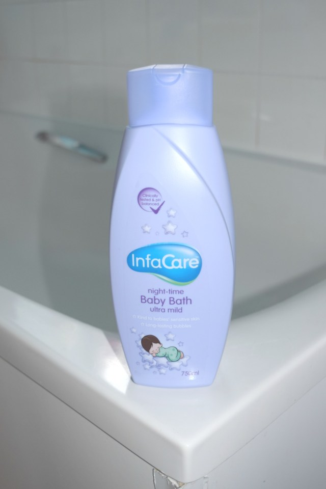 infacare bubble bath