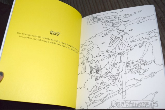 mills and boons colouring book 7