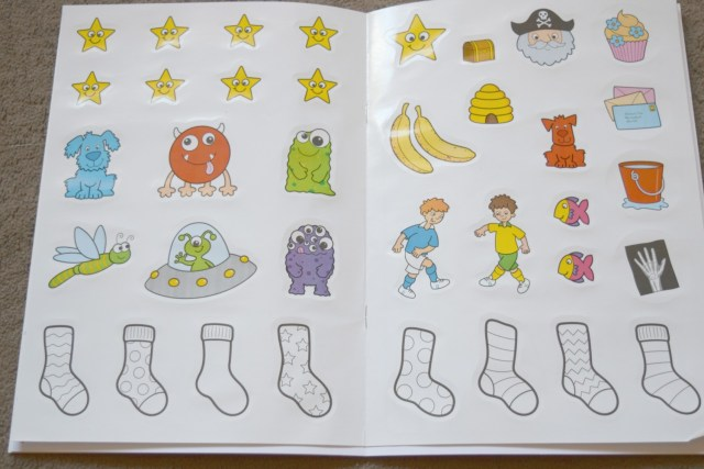 things to do activity book 6