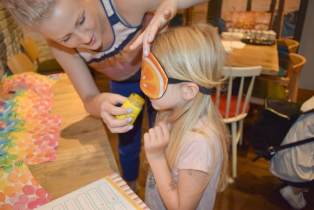 num noms event - smell test - mustard