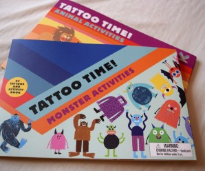 Tattoo Time Activity books