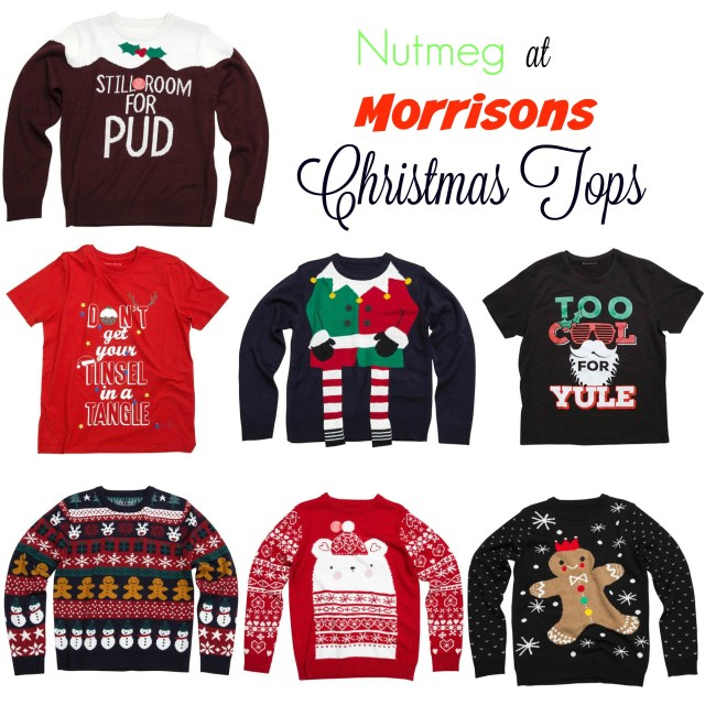 Fun Christmas Jumpers From Morrisons