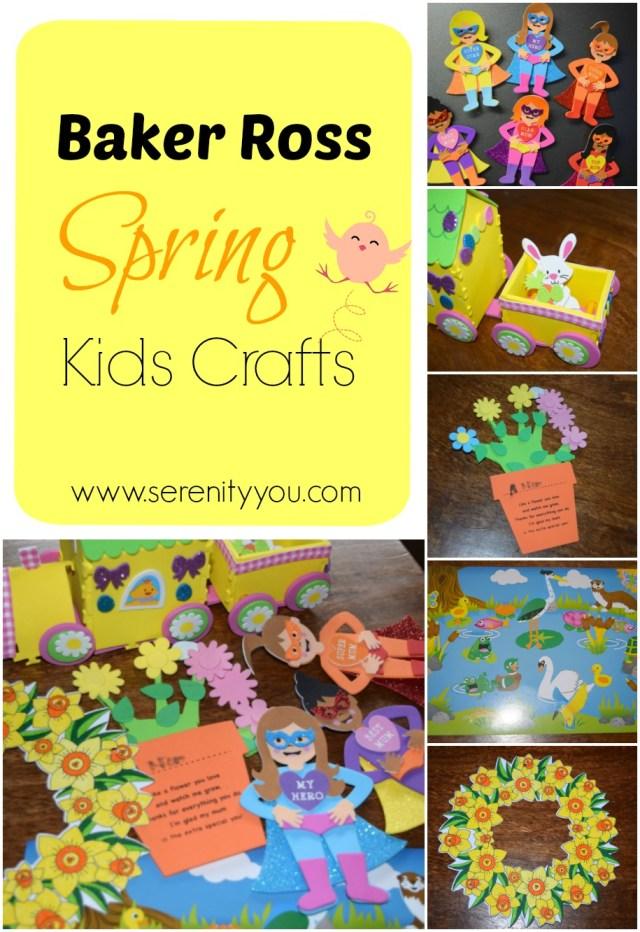 Baker Ross Spring Kids Crafts on Serenity You