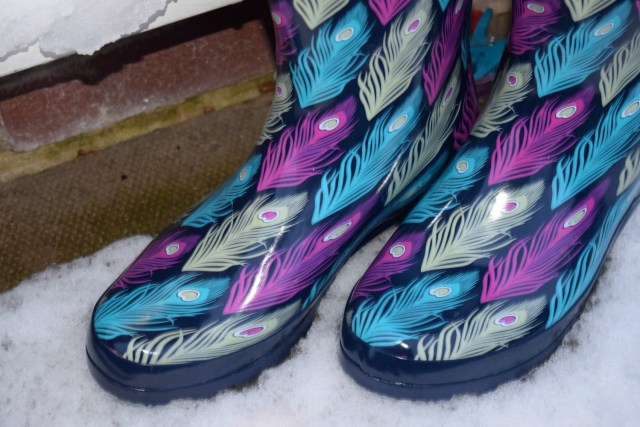 Brantano Peacock feather wellies review