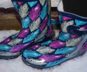 Ready for the Snow with my New Wellies