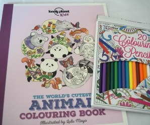 The World's Cutest Animal Colouring Book Review + Giveaway