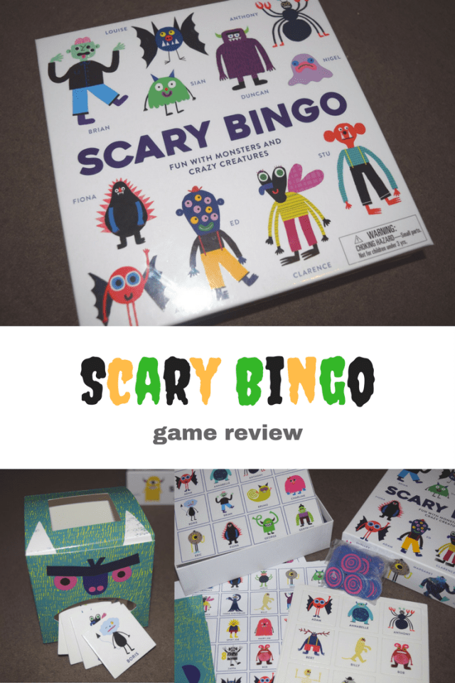 Scary Bingo Game Review - pin