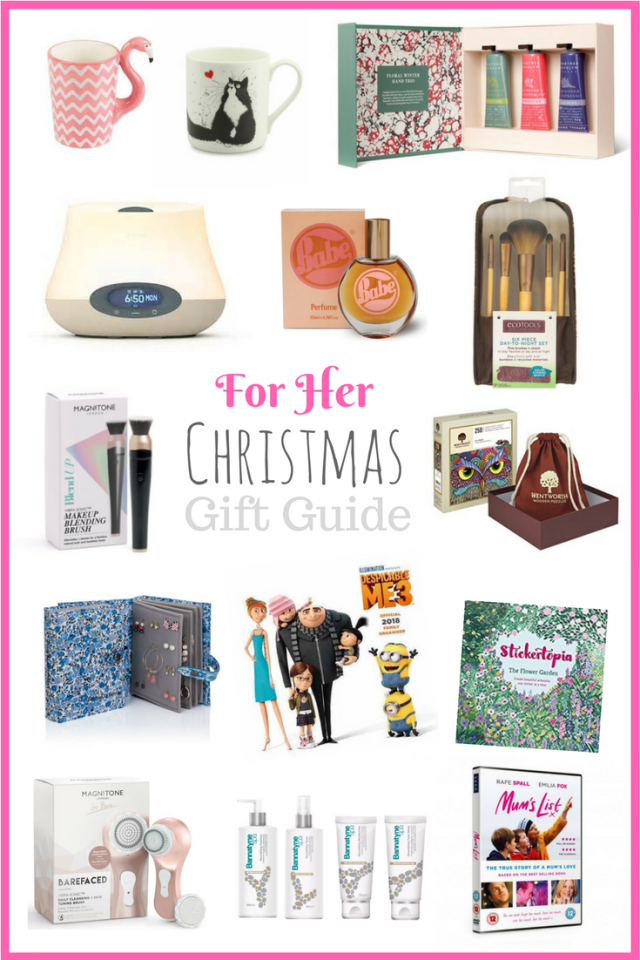 For Her Christmas Gift Guide 2017
