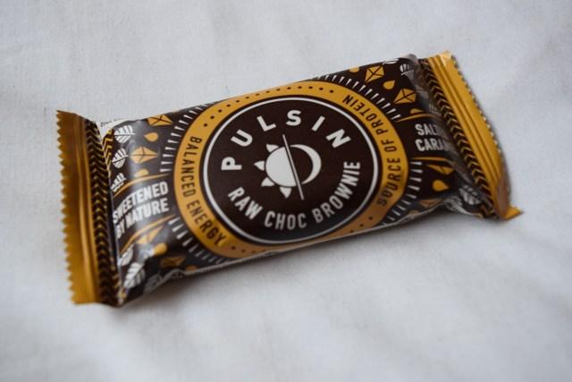 Pulsin Salted Caramel Raw Choc Brownie - Degustabox