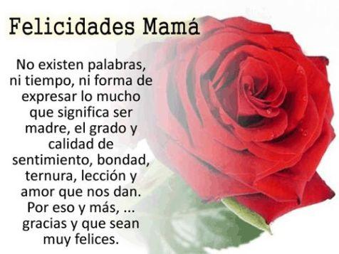 Feliz dia Madres
