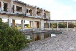 Hotel en ruinas
