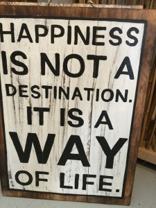 happiness is a voyage