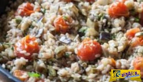 Καν 'το όπως ο Άκης: Πως να φτιάξετε καλοκαιρινό ριζότο!
