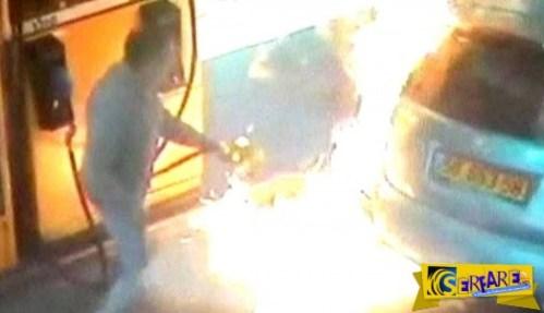 Αν είναι δυνατόν, του έβαλε φωτιά γιατί δεν της έδωσε τσιγάρο!
