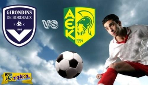 Bordeaux – AEK Larnaca Live Streaming