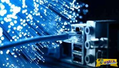 Νέο επίτευγμα στα δίκτυα οπτικών ινών κάνει το Ίντερνετ ακόμη πιο γρήγορο!