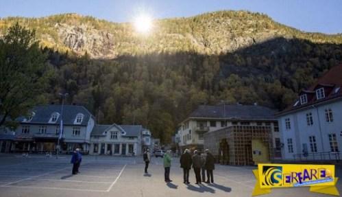 Μια σκοτεινή πόλη: Οι κάτοικοι βλέπουν τον ήλιο χάρη σε γιγαντιαίους καθρέφτες!