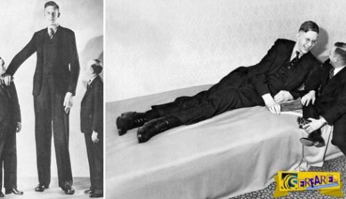 O ευγενικός γίγαντας: Ο ψηλότερος άντρας στον κόσμο που είχε ύψος 2 μέτρα και 73 εκατοστά!