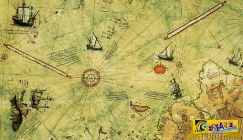 Ανακαλύφθηκε χάρτης 500 χρόνων που ανατρέπει την επίσημη ιστορία του πλανήτη μας!