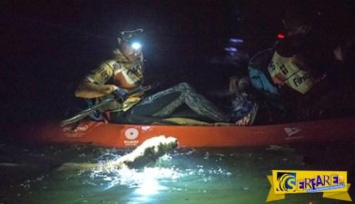 Είδαν ένα φως μέσα στο ποτάμι εκείνη τη νύχτα…Ποιος τους ακολουθεί άραγε;