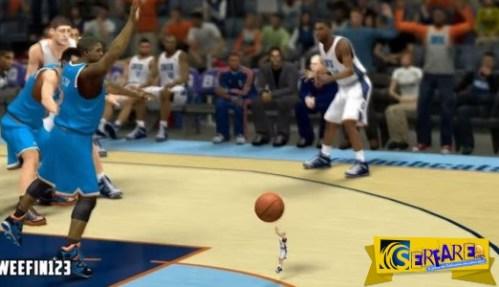 Δείτε τι γίνεται αν βάλετε έναν γίγαντα και έναν νάνο να παίξουν μπάσκετ στο video game σας