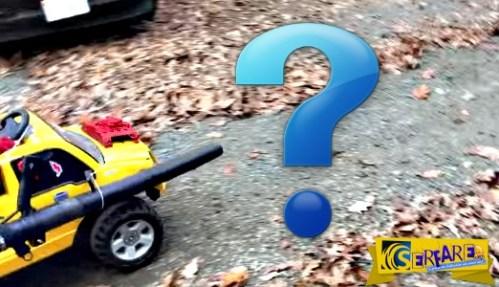 Δεν θα πιστεύετε τι τοποθέτησε ένας πατέρας στο ηλεκτροκίνητο αυτοκίνητο του γιου του