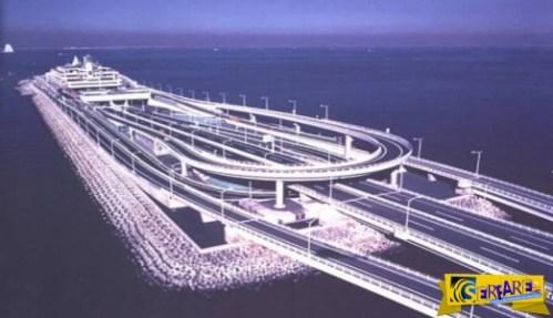 Εντυπωσιακός συνδυασμός γέφυρας-υποθαλάσσιου τούνελ! Για ποιο λόγο κατασκευάστηκε!